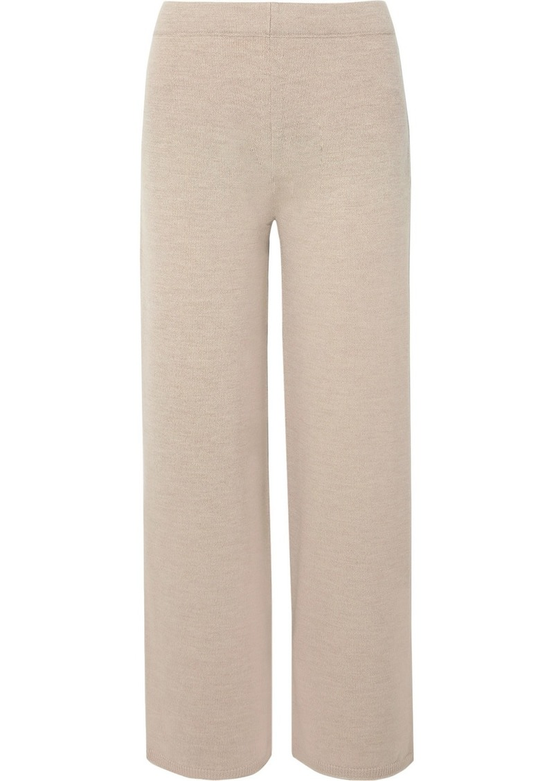 Max Mara Leisure Wool Wide-leg Pants