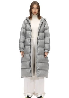 Max Mara Long Nylon Down Coat