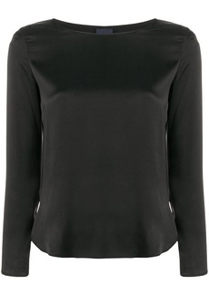 Max Mara long-sleeve blouse