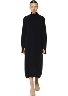 Max Mara Long Wool & Cashmere Knit Dress