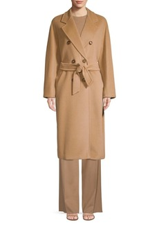 Max Mara Madame Wool & Cashmere Double Breasted Jacket