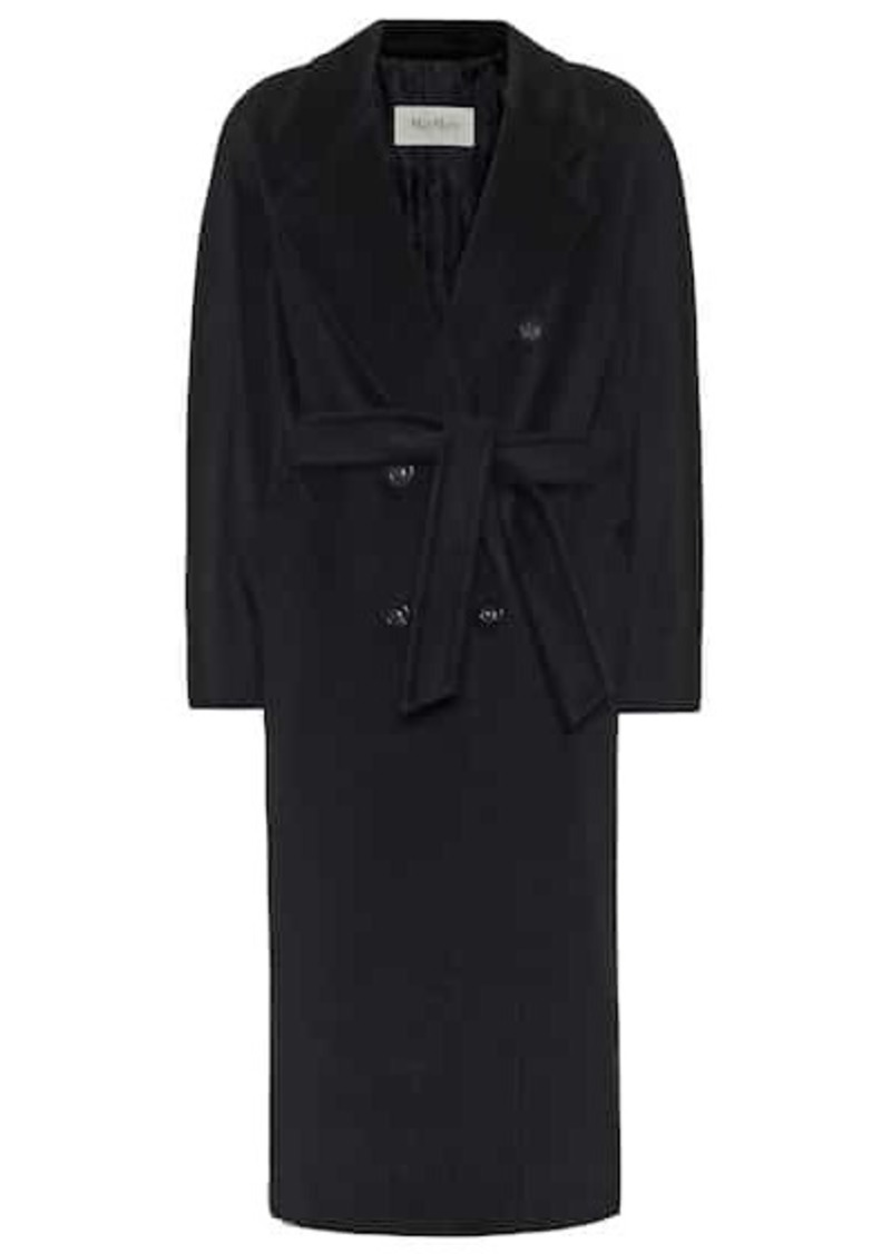 Max Mara Madame wool and cashmere-blend coat