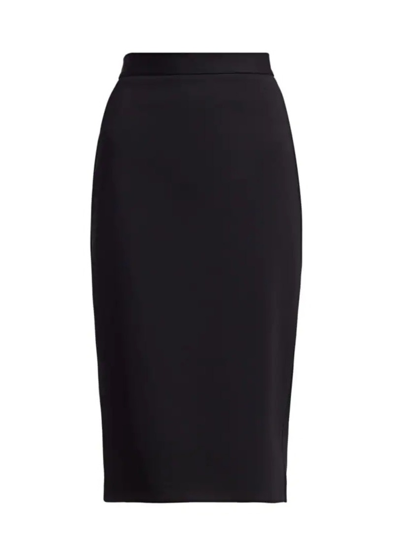 Max Mara Manco Jersey Pencil Skirt