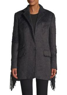 Max Mara Manico Virgin Wool & Alpaca Trench Coat