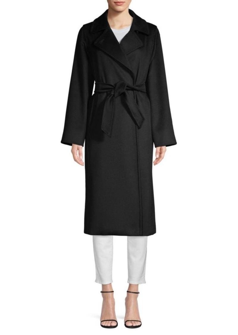 641f28102d7b Max Mara Manuela Long Belted Wool Coat | Outerwear