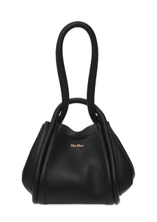 Max Mara Marinb Smooth Leather Bucket Bag
