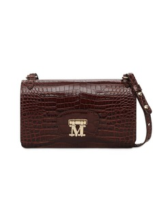 Max Mara Marlenc Croc Embossed Leather Bag