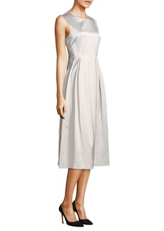 Max Mara A-Line Sleeveless Midi Dress