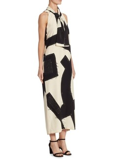 Agiato Silk Dress