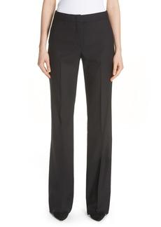 Max Mara Alessia Stretch Wool & Silk Pants