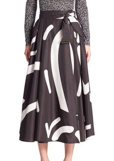 Max Mara Ali Printed Skirt