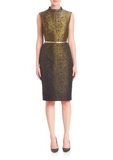 Max Mara Angel Brocade Dress