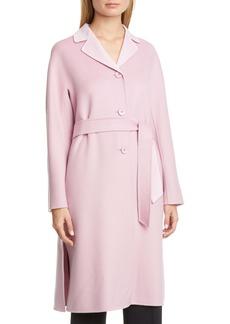 Max Mara Aretusa Belted Wool Blend Coat