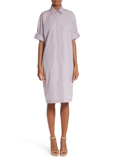 Max Mara Baccano Cotton Shirtdress