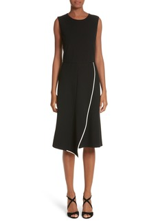Max Mara Baccara Wrap Skirt Dress
