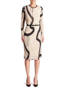 Max Mara Bina Printed Dress