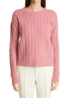 Max Mara Breda Cable Wool & Cashmere Sweater