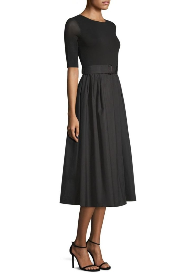 4c4a5a9775 Max Mara Calmi Belted A-Line Dress