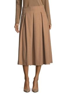Max Mara Camel Hair Skirt