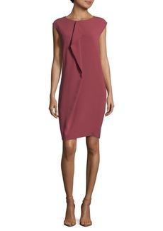 Max Mara Cap-Sleeve Shift Dress