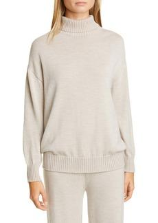 Max Mara Leisure Certo Virgin Wool Turtleneck Sweater