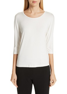 Max Mara Circe Stretch Jersey Tee