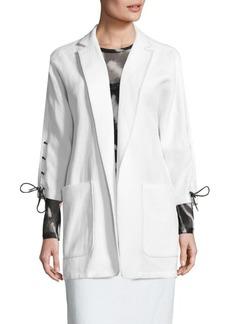 Max Mara Deruta Lace-Up Jacket