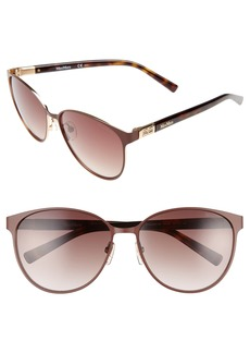 Max Mara Diamov 59mm Gradient Cat Eye Sunglasses