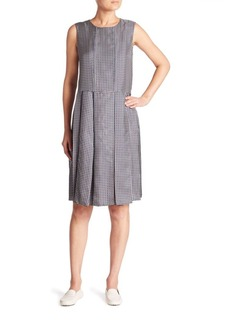Max Mara Dotto Silk Printed Dress