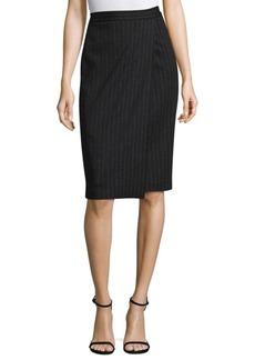 Max Mara Eracle Pinstripe Skirt