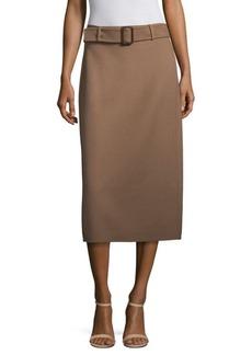 Max Mara Ezor Wool Angora Skirt