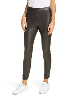 Max Mara Leisure Faux Leather Leggings