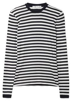 Max Mara Favola striped stretch-jersey top