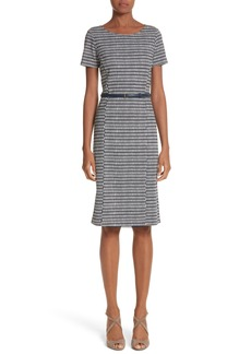 Max Mara Felino Print Sheath Dress