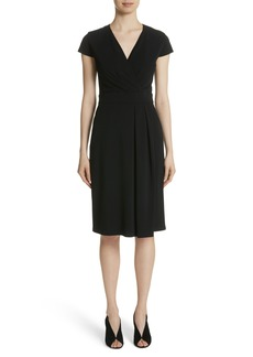 Max Mara Feluca Surplice Dress
