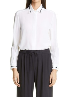 Max Mara Filante Silk Crêpe de Chine Shirt