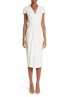 Max Mara Full Drape Midi Dress