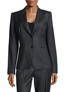Max Mara Gaspare Wool Suit Jacket