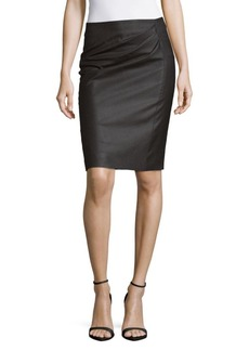 Max Mara Gathered Front Skirt