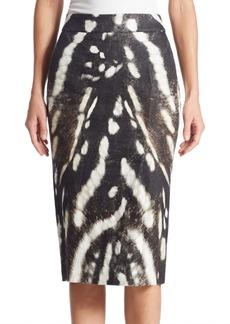 Max Mara Ghetta Printed Pencil Skirt