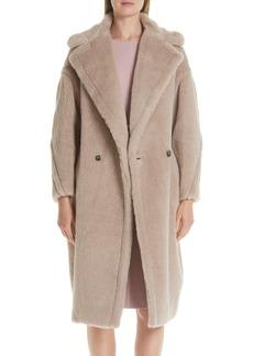 Max Mara Ginnata Teddy Bear Icon Faux Fur Coat