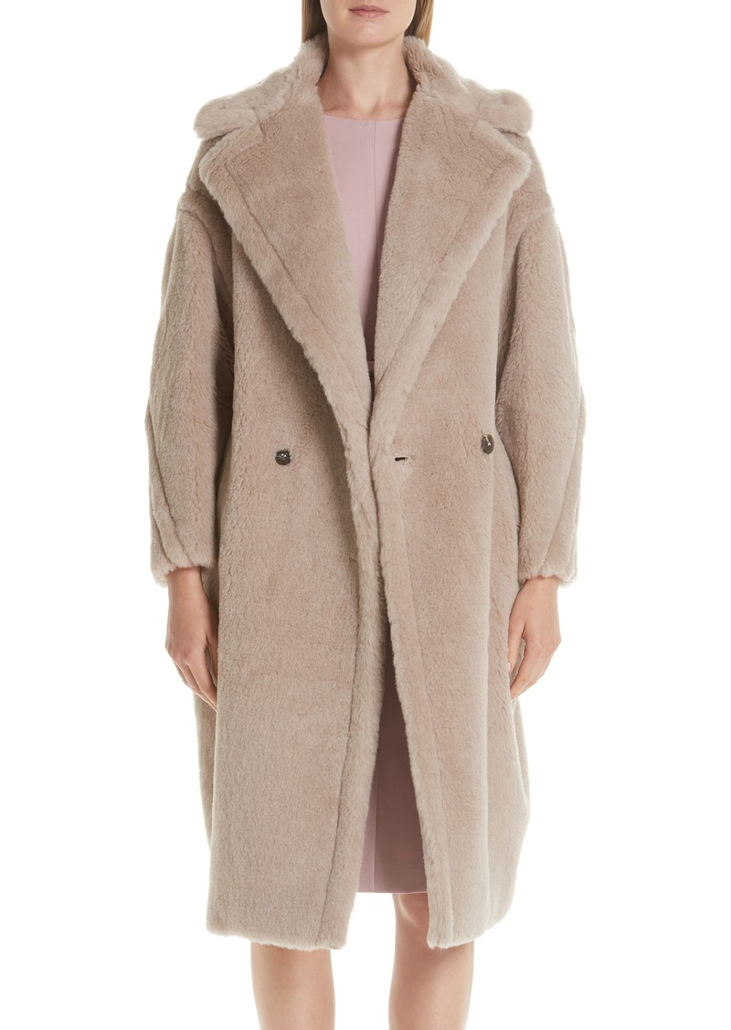 Max Mara Max Mara Ginnata Teddy Bear Icon Faux Fur Coat  d940692c8d4
