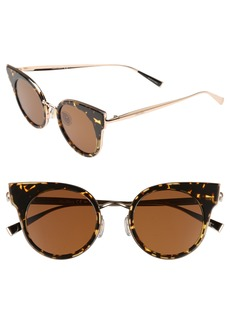Max Mara Ilde 46mm Cat Eye Sunglasses