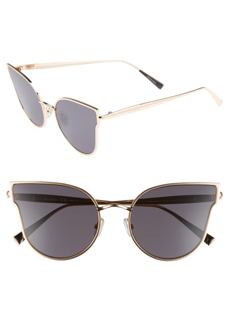 68008c7f9451 Max Mara Max Mara Ilde III 57mm Mirrored Cat Eye Sunglasses | Sunglasses