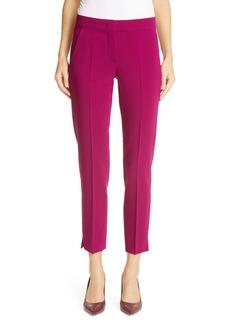 Max Mara Kefalos Crop Stretch Virgin Wool Trousers