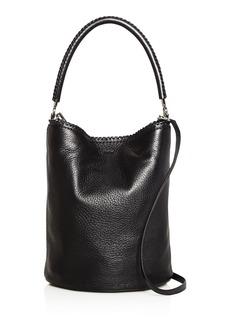 Max Mara Large Leather Bucket Bag