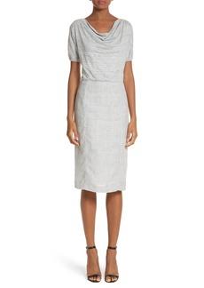 Max Mara Laura Cowl Neck Linen Dress