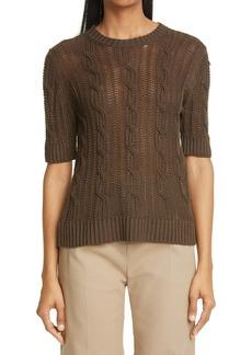 Max Mara Laveno Linen Sweater