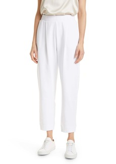 Max Mara Leisure Cotton Jersey Pull-On Trousers