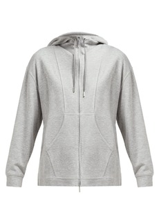 Max Mara Leisure Danilo cotton-blend hooded sweatshirt